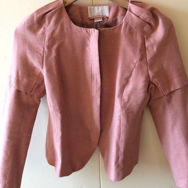 H&M Zip-up blazer