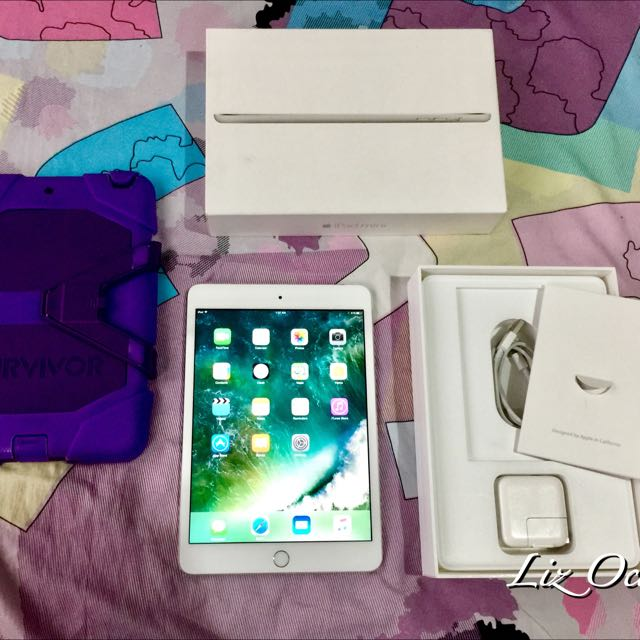 iPad Mini 3 16gb WiFi 5 Months Old Retina Complete