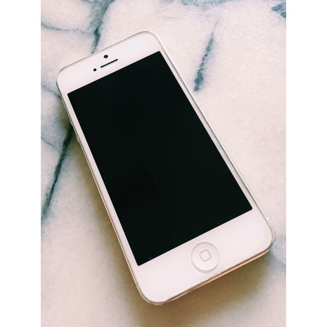 降價(免運)iPhone5 32G