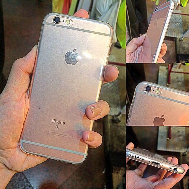 矽膠透明軟殼Iphone6/6s(4.7)