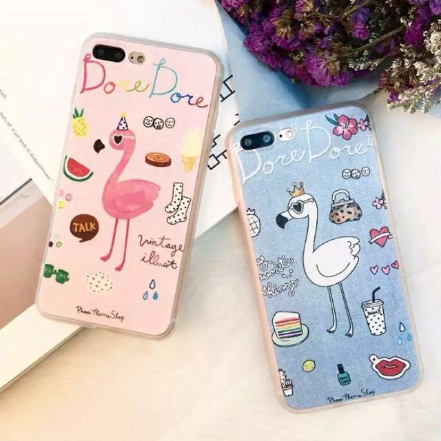 【無殼蝸牛】iphone 7 7PLUS 6 6S PLUS iphone手機殼 紅鶴 白鶴 文青