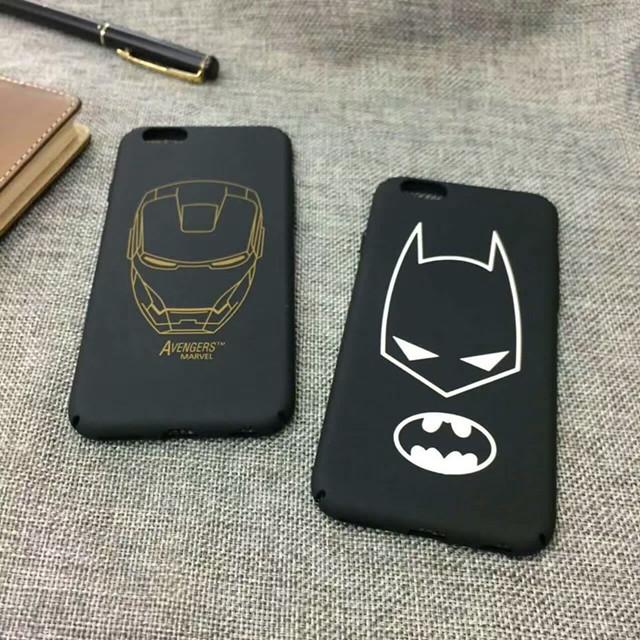【無殼蝸牛】iphone 7 7PLUS 6 6S PLUS iphone手機殼 復仇者聯盟 英雄 鋼鐵人 蝙蝠俠