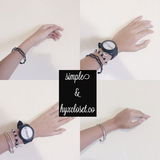 Irregular Hexagon Bracelet