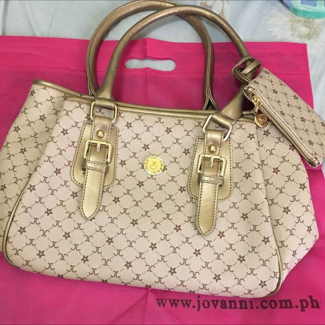 Jovanni Hand/Shoulder Bag