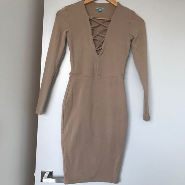 Kookai beige Dress