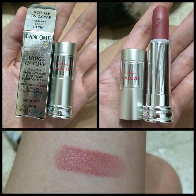 Lancome Rogue In Love Lipstick