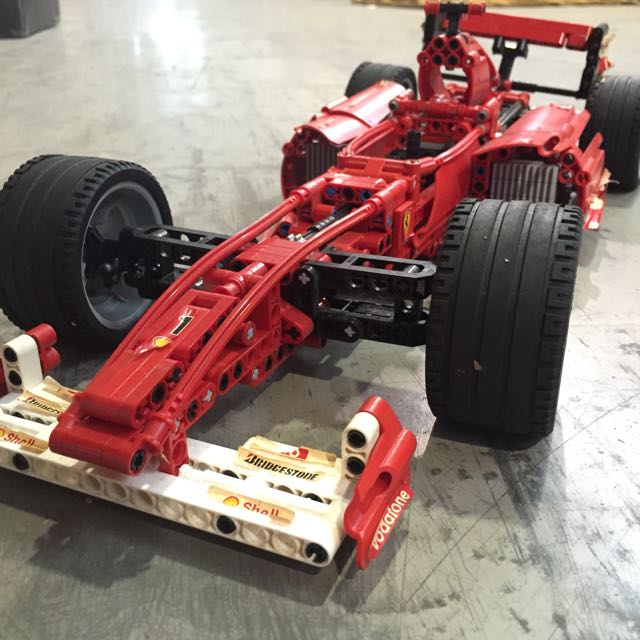 Lego Technic 8674 Ferrari F1 Racer 1 8 Car Toys Games Bricks Figurines On Carousell