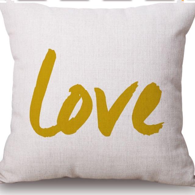 "New ""Love"" Pillowcase"