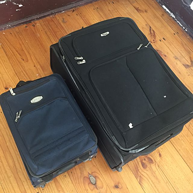 Luggage, One Large And One Carry On.