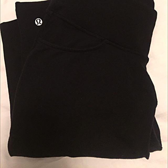 Lulu Lemon Black Pants With Pockets