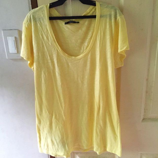 Mango Plain Shirt