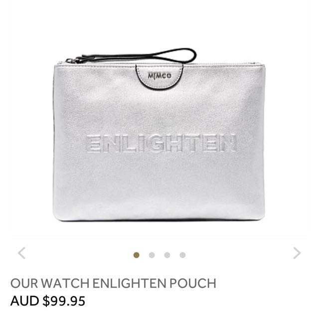 Mimco Our Watch Enlighten Pouch