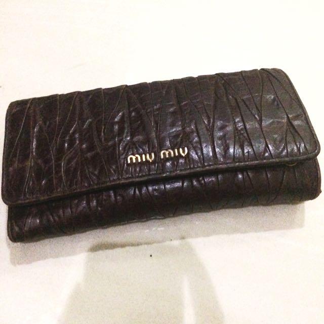 Miu Miu Wallet Dompet