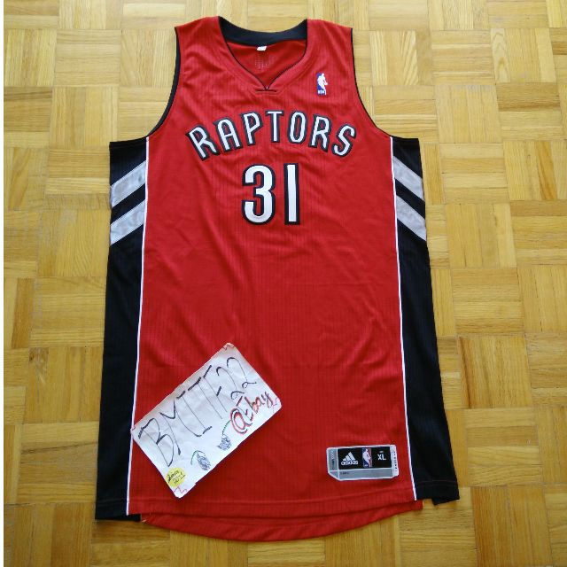 promo code a3fcb 3c5dd NBA Terrence Ross Toronto Raptors Home Adidas R30 Authentic Men Jersey XL  +2 Length