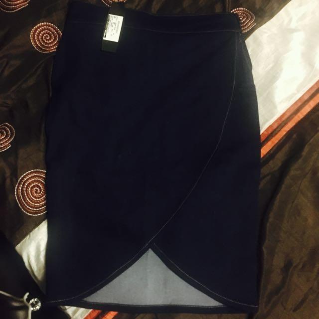 BNWT Denim Skirt Size 10