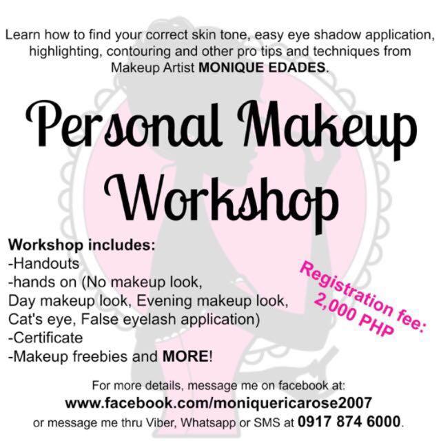 Personal Makeup Workshop