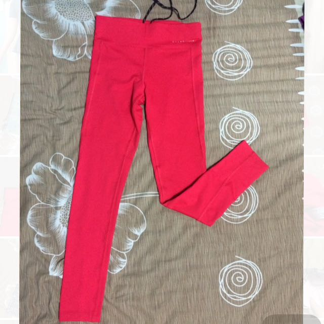Red Leggings Pants