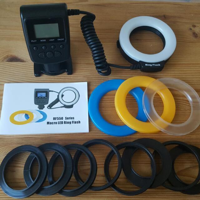 Ring Light DSLR Attachment
