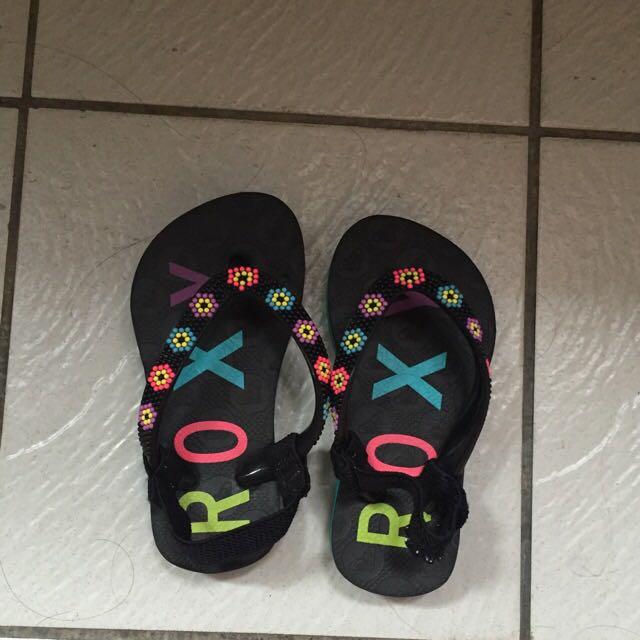 二手正品ROXY涼鞋