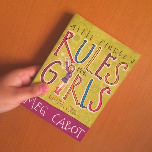 REPRICED| MEG CABOT: RULES FOR GIRLS