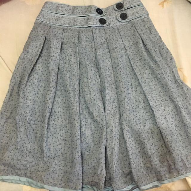 Shapes High Waist Flowy Skirt