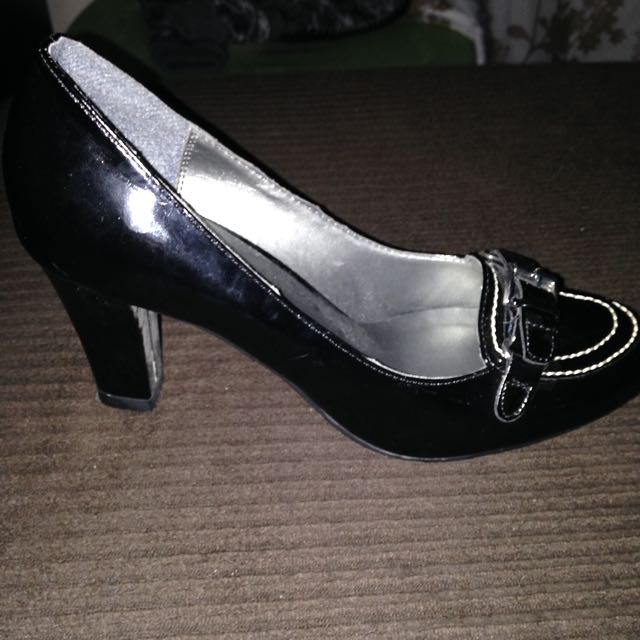 Size 6.5 Black Heels From Payless