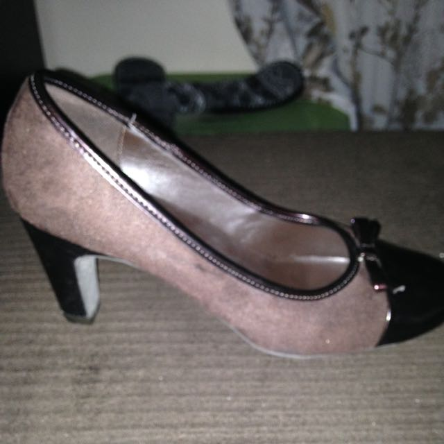 Size 6.5 Brown Heels From Payless