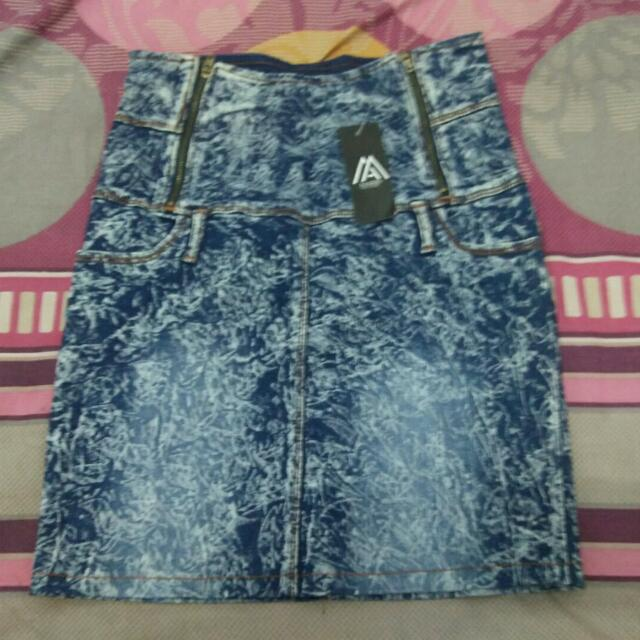 Skirt Stretch Jeans Import