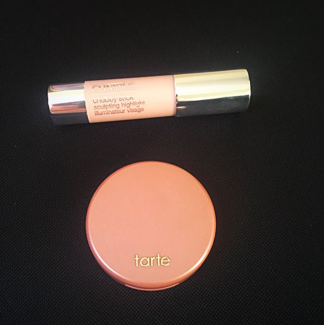 Tarte Blush And Clinique Chubby Stick Highlighter