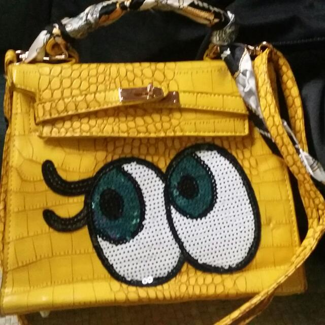 Tas Import Yellow(freeong)