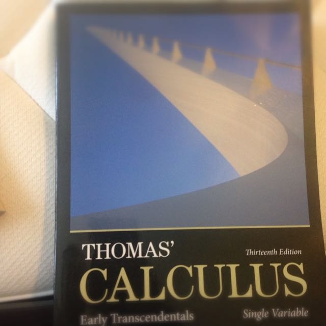 Thomas Calculus- Early Transcendentals 13ed