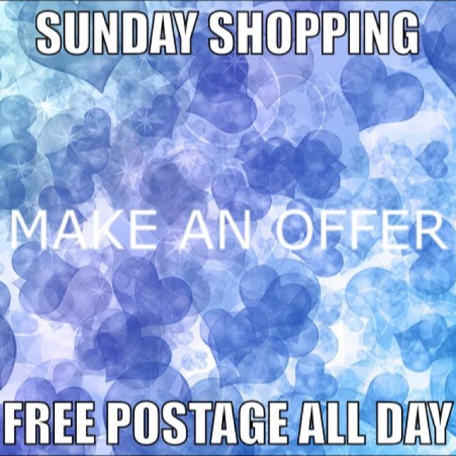 Visit My Page For A Sunday Deal