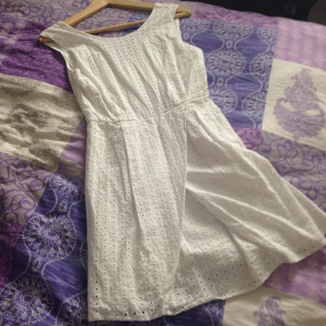 White Dress From H&M