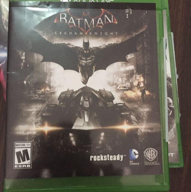 Xbox Game Batman Arkham Night