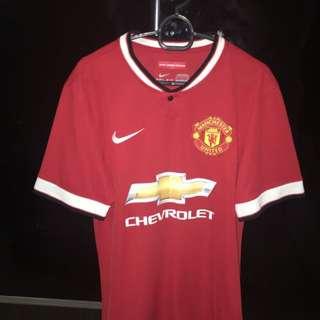 Man United 14/15 Home, Away & Third Kit