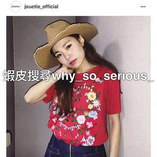 🚫預購🚫日本品牌jouetie民族風圖騰刺繡印花短袖T恤上衣