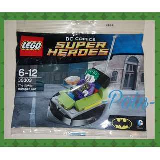 Lego Joker Polybag - Bumper Car