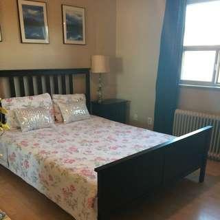 Bedroom Set Including The Mattress