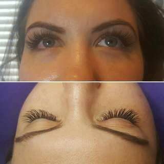 Professional Eyelash Extensions Full Set $100, Refills  $50