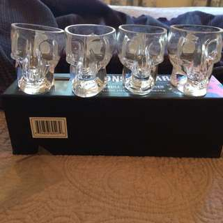 Sons Of Anarchy Skull Shot Glasses