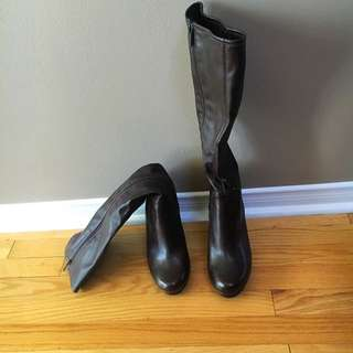 Brown Knee High Boots by Kenneth Cole.  Size 9.5.