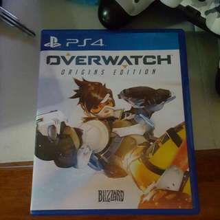 Overwatch PS4( RESERVED)