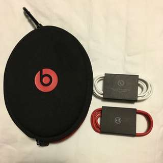 OEM Beats By Dre Headphone Cable, Case And Power Cord