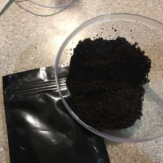 Organic Coffee Scrub With Coconut Oil - Brand New