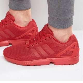 adidas Originals Zx Flux Red Rare