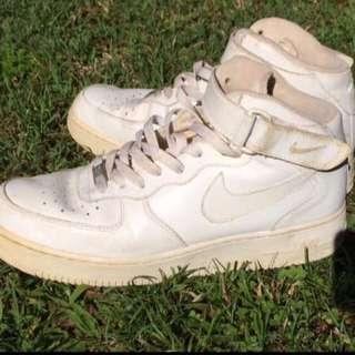 Nike Airs Airforce 1 US10