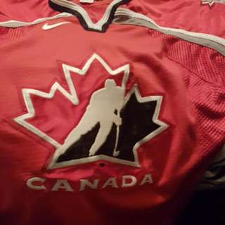 Authentic Team Canadian Jersey  (Fight Strap)