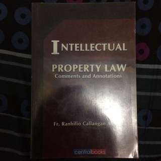 Intellectual Property Law (Commentary)