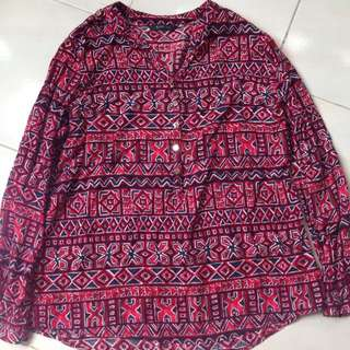 Rope Blouse Size L