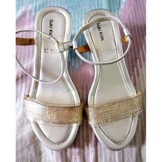 Suki Kids Wedge Sandals